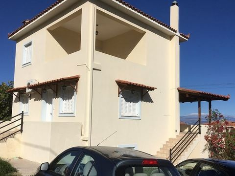 Licoporia Corinthians. For sale detached house of 220 sq.m. on a plot of 1300 sq.m. The house is located 50 meters from the sea. On the ground floor there is a living room and dining room with kitchen, one bedroom, bathroom. On the first floor there ...