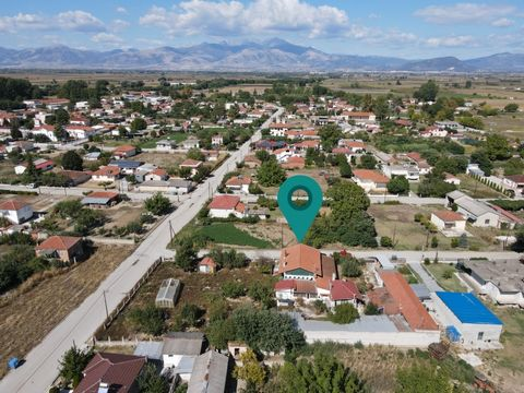 Property Code: 11133 - House FOR SALE in Sitagroi Mavrolevki for €68.000. This 150 sq. m. House consists of 2 levels and features 4 Bedrooms, Livingroom, Kitchen, Bathroom The property also enjoys Heating system: Individual - Petrol, View of the Moun...