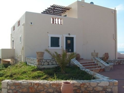 Villa of 270 sqm in a plot of 2000 sqm in Tersanas region at Akrotiri area with 5 bedrooms, each one with its own Jacuzzi, large spaces, barbeque, swimming-pool, play-room and parking. It offerts amazing view at the sea.
