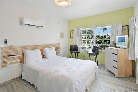 Rare Legal Short Term Rental / Hotel Building in the heart of South Beach Miami just 3 blocks from Ocean Drive and the beach! Booked through February. This is a TURN KEY opportunity for a handsfree investment that cash flows beautifully all year roun...