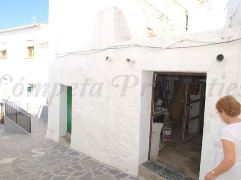 A traditional bodega located just a few steps from the main square of the white village of Canillas de Albaida. The property comprises of two rooms with approx. 15m2 and a patio. Mains water and electricity are connected. Due the location of this pro...