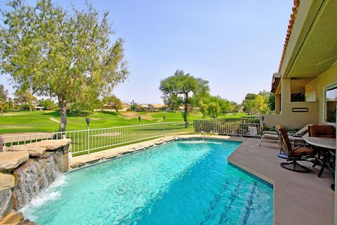 A gated entry leads to a beautifully landscaped courtyard complete with your own private spa retreat. Inside the house, you will find an open Great Room and Kitchen with upgraded countertops and cabinets, stainless steel appliances and a metered glas...