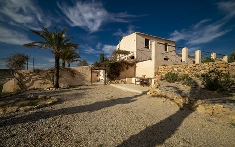 This tastefully restored, boho-chic cortijo on 6 acres of land features a fantasticAndalusiancourtyard, five bedrooms, three bathrooms and a lovely pool. It is situated ten minutes from three historical Andalusian villages: Vera, Cuevas del Almanz...