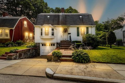 Location, location, location! Welcome to 41 Burrwood Rd, a bright, sunny Cape in the heart of West Roxbury! This well maintained home features living room with fireplace, bay window & gleaming hardwood floor, eat-in kitchen and spacious dining/family...