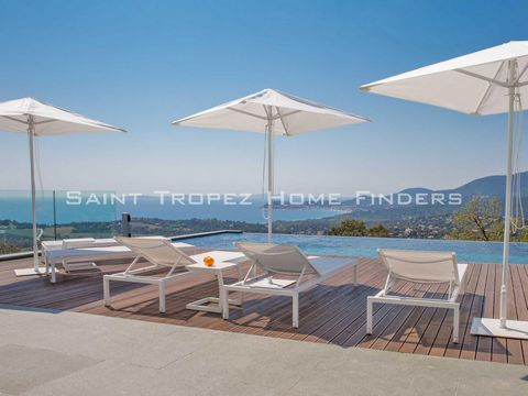 • This property is situated in walking distance to the center of La Croix Valmer , with an easy access to the beaches of Gigaro and its well-know restaurants. The villa, which was finished in 2017, offers quality features with bright and spacious roo...