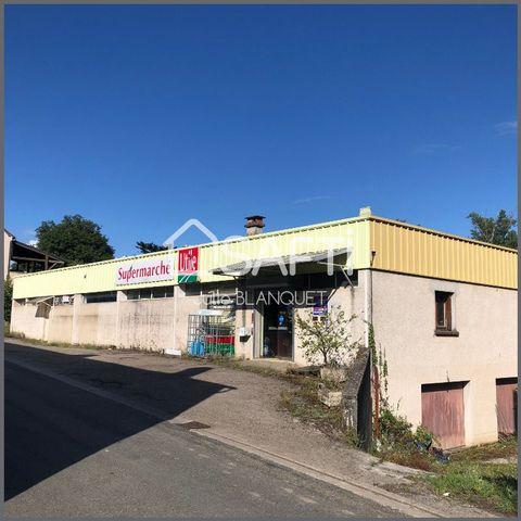 A vendre local idéal pour une activité commerciale ou artisanale d'une superficie de 360 m2 ainsi que d'un sous-sol de 180 m2 avec un parking privatif le tout sur une parcelle totale de 817 m2. Prix de vente honoraires d'agence inclus : 120 000 € HT ...