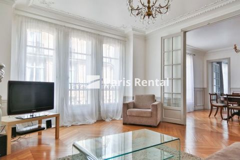 Comfortable and spacious, this furnished 2 bedroom, 1 bathroom apartment is located in a lively area of Paris,