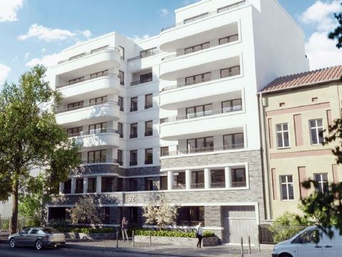 Studio in a modern residential ensemble on more than 1800 Sqm. The two buildings enclose a green courtyard and the apartments are equipped to high standards: they offer modern fittings, parquet and wooden windows. The location of the project is ideal...