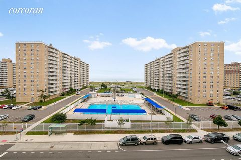 Get your sunglasses and beach gear ready! Welcome to 79-14 Rockaway Beach Blvd 6K. This fantastically located condominium is only one block away from the beach. Indulge with unobstructed ocean views from both bedrooms and living room in the unit. Dre...