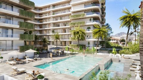 FUENGIROLA ... 1 Bedroom apartment 2 bathrooms, This is an extraordinary residential complex, 116 splendid apartments and luxury penthouses with garage at 100 m from the sea. 1, 2 or 3 rooms, with modern and elegant design. The houses are characteriz...