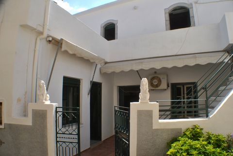 An old house located in the centre of the upper part of the traditional village of Milatos, East Crete. The property is on 2 levels with the ground floor rooms arranged around a private terrace and currently not connected internally…. Living room wit...