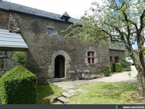 Mandate N°FRP128751 : House approximately 120 m2 including 6 room(s) - 3 bed-rooms - Garden : 544 m2, Sight : Garden . Built in 1700 - Equipement annex : Garden, Fireplace, - chauffage : bois - Class Energy E : 274 kWh.m2.year - More information is a...