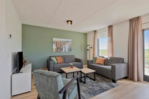 Enjoy a relaxing holiday in this modern home close to Scherpenisse Beach. The house has a pleasant garden where you can stay comfortably with the whole family. The beach is a short walk away and it is ideal for a relaxing afternoon. Scherpenisse hous...