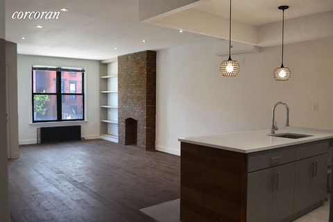 1357 Saint Marks Avenue is a thoughtfully designed two-family townhouse in the Weeksville area of Crown Heights. It is built 17'10