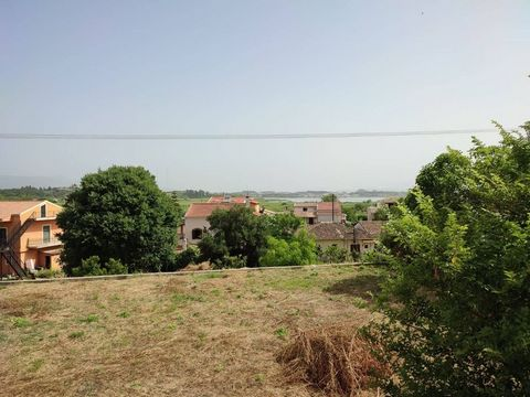 FOR SALE: A plot of 900 sq.m. overlooking the sea, located in the area of Chrysiida. It is located within the settlement, has a nice slope and builds up to 200sqm. It is only 50m from the main road, has a frontage of about 10 meters on the road and h...