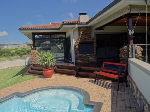 Stunning 3 Bedroom 3 Bathroom Fully Furnished House on an Eco Estate for Sale in South Africa Euroresales Property ID- 9825455 Property Information: Fully furnished and fully equipped 260 square metre modern 3 double bedroom, 3 bathroom (two en-suite...
