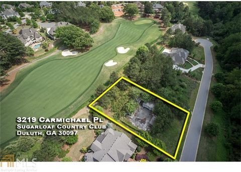Located in Duluth. Located on a cul-de-sac street, this Golf Course lot offers PERFECT tournament views, with room for a pool! Great opportunity to build on the 7th Fairway of this TPC Championship Golf Course in prestigious Sugarloaf Country Club, a...