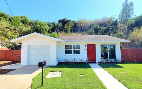 Stunning 2 bedroom 1 bathroom on a 9,900 square ft lot! Kitchen has been updated with recessed lighting, shaker style cabinets, quartz countertops and stainless steel appliances. Bathroom upgrades include new tile flooring, vanities and fixtures. Add...