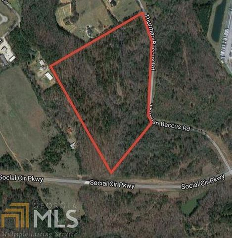 Located in Social Circle. This property is ideally located on Thurman Baccus Road with frontage on the Social Circle By-Pass as well. It will make a gorgeous homesite for those looking for a little space but being close to I-20 and downtown Social Ci...