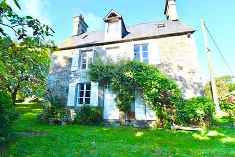 This fine, double-fronted house is hidden away in a rural, farming hamlet just a few minutes drive from the town of Vire. The accommodation is arranged over 3 floors, with plenty of light and high ceilings. The outbuilding, which is in excellent co...
