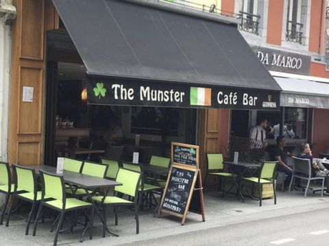 The Munster Bar For Sale in Lourdes Euroresales Property ID- 9825590 Property Information: This superb Irish Bar is situated in the heart of Lourdes, France. The Munster Bar is a ground floor cafe/bar, The seating circa for the bar is approx 40 peopl...