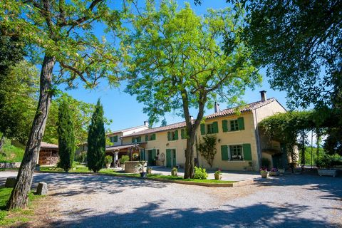 Located in a prominent position this farmhouse dating from the 17th Century has been completely restored offering a main house and gites. Surrounded by a beautiful rolling countryside with landscaped garden, fruit, ornamental trees and cypresses. It ...