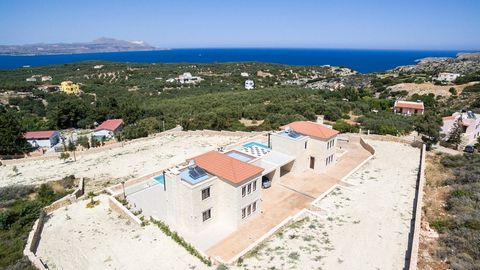 Located in Plaka. This stone villa (the villa on the left, as we look towards the sea) for sale in Chania is located in the popular village of Plaka, in the Apokoronas region. The villa has a living space of 203sqms, a private pool of 52,5sqms and a ...