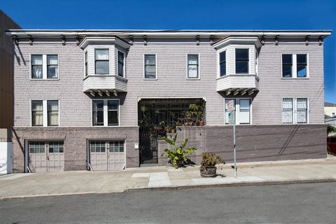 500 Bartlett Street, an excellently located 4 unit corner building in the Mission District of San Francisco, is a fantastic opportunity for an investor or owner occupier. The building has 1 three bedroom/two bath unit and 3 one bedroom units. All uni...