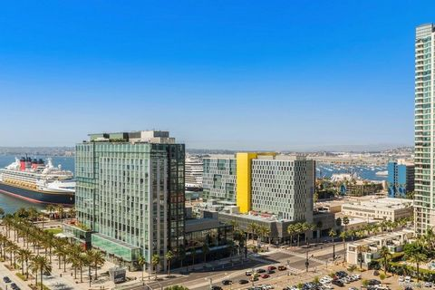 Here is your opportunity to live at one of The Best Address's in town. Step into the luxurious and sophisticated lifestyle of Electra. This stunning and beautifully up-dated 2 bedroom 2 baths home showcases 180 degrees of City, Bay and Ocean Views fr...