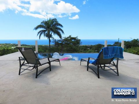 Glorious, breathtaking new construction in Morning Star Estates, St John, Nevis. Elevation is 800 feet above sea level which allows for constant, cool, tropical winds. Property is blessed with rich volcanic soil worthy for best vegetation growth. Nev...