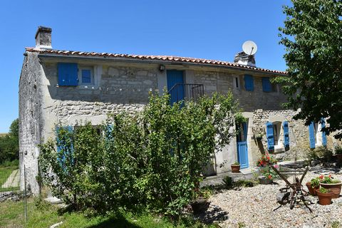 This gorgeous nineteenth century Charentaise farmhouse with private pool and garden offers authentic and spacious family living in the idyllic, sun-baked countryside of the Cognac region. Originally built in 1884, it has been lovingly restored to a v...