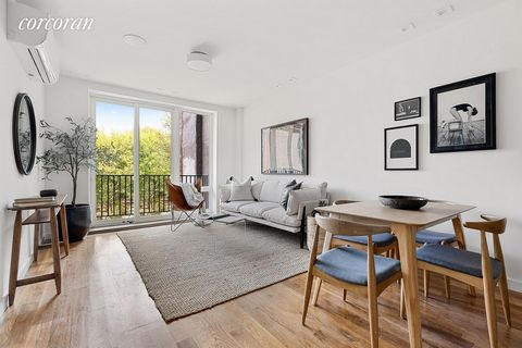 Welcome to 269 Malcolm X Boulevard, a charming new condominium in Stuyvesant Heights. Located on a tree-lined street, this 8-unit new development showcases impeccable design with a blend of modern and classic elements. A collection of studios, one an...