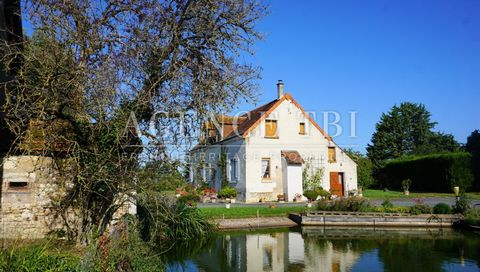 19th century farmhouse on 1.98 hectares. Dwelling house and various outbuildings. Well. Orchard and vegetable garden. Water parts. The whole on 1.98 hectares. & nbsp; The dwelling house includes: On the ground floor : An entrance of 9m2, floor in cem...