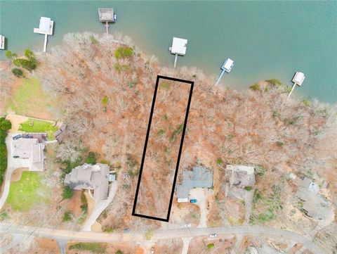Located in Gainesville. Rare opportunity to own a deep water Lake Lanier lot in beautiful established neighborhood. Build your own dream home and enjoy the breathtaking panoramic big water lake views. Gently sloped lot. Corp line close to water. Over...