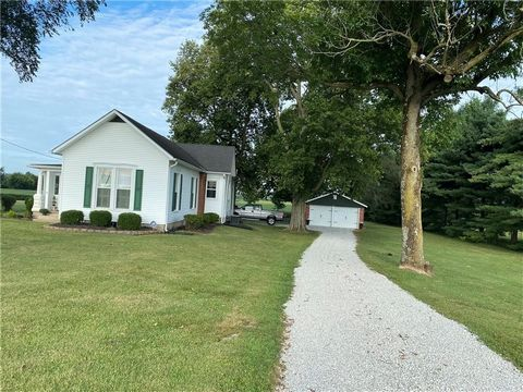 Want your own slice of peace and tranquility? You'll find it in this charming renovated farmhouse. House sits on just over an acre with relaxing views from the sunroom or covered porch. Abundance of Character throughout including hardwood floors, bui...