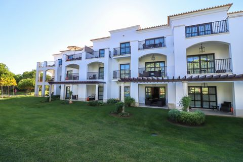 Three bedroom ground floor apartment facing the golf course, in one of the most well known resorts in the Algarve. This apartment is composed of entrance hall, leading to the kitchen, laundry room, a large open living / dining room with access to the...