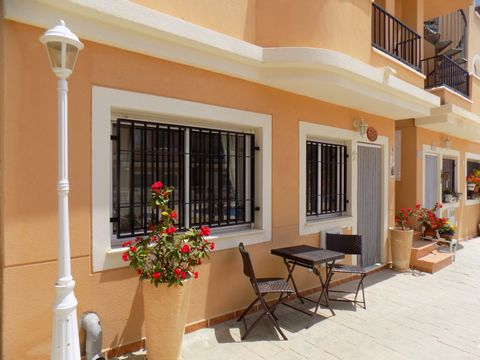 This is a lovely 2 bed, 2 bath ground floor apartment that has been decorated beautifully, presented and maintained to a very high standard. Located on an urbanisation with communal pool the apartment is just a five minute drive to the beach and walk...