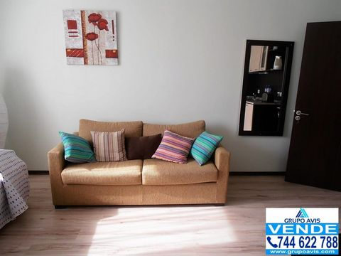 Grupo Avis offers you this comfortable studio located in the best tourist center of Bulgaria and the Balkans in the foothills of Pirin Mountain in the All Season Resort residential complex. The apartment is fully furnished. The furniture includes a d...