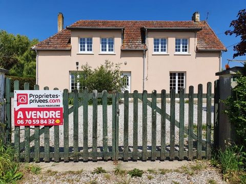 50500 Carentan Sector (St-georges-de-Bohon) 144 sqm light dwelling house, 5 bedrooms 4 bedrooms. Kevin Madeleine and private properties offer you, 5 minutes from Carentan, this renovated 2-storey, 144-square-metre residential house with a beautiful k...