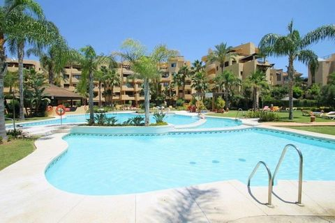 Beachside modern and newly furnished 2 bedroom 2 bathroom apartment on the 2nd floor with views over the swimming and gardens. This apartment has Tv with many channels, Wi-fi, hot and cold air-conditioning, and is very well equipped. It is furnished ...