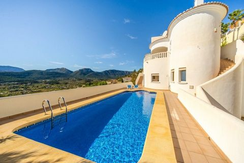 The stunning views of the Jalon Valley define this beautiful family villa with private pool for sale in popular urbanization of Jalon. The property also has an attractive underbuild with summer lounge and bar area, ideal for entertaining.. . Main Flo...