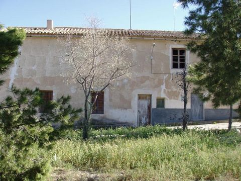 Old school house. For complete renovation. Would make a fabulous casa rural. Situated in La Raja de Jumilla. Two houses, very similar in size and layout, attached by one main wall. Only attached to surrounding houses by patios. Open fireplaces and 30...