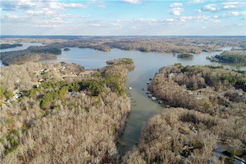 Located in Gainesville. LAKE LAKE LAKE...build your new dream home today in this unique subdivision..Hardy Road Estates with covenants. Choose from 2.87 to 5 acre lake estate sized lots that offer double and singleslip docks. Located in North Hall s...