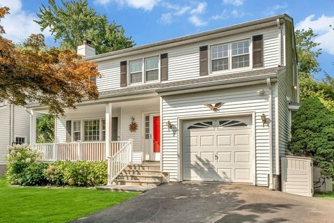 This four bedroom, 2.5 bath colonial is close to everything you need-- schools, town, grocery stores & transportation! In a quiet cul-de-sac location with a quiet creek in the backyard, this home features a newly remodeled kitchen with granite counte...