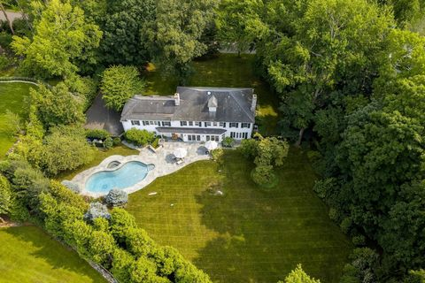 Elegant, renovated five-bedroom Colonial graces one private, manicured acre with pool, hot tub and built-in grill on quiet cul-de-sac offering deeded water access, ideal for kayaking/paddle boarding. 2019 updates include remodeled kitchen open to fam...