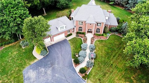 A rare, stunning home just hit the market in Zionsville! This home features 5 bedrooms, 4 full and 2 half bathrooms and 5327 sqft of living space situated on over 10 acres of beautiful land. The first floor features a formal LR/DR, master suite, kitc...