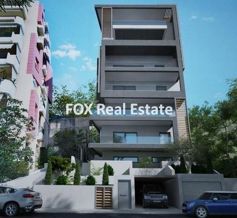 ALIMOS, a 110sqm floor maisonette, on the ground- and semi-basement floor of a five-storey luxury apartment building under construction, building permit 2021, just 600m away (8min walk) from Marina of Alimos and the TRAM stop. It develops on 2 levels...