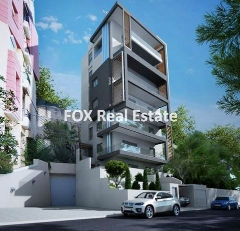 ALIMOS, a 66sqm apartment, on the 1st floor of a five-storey luxury apartment building under construction, building permit 2021, just 600m away (8min walk) from Marina of Alimos and the TRAM stop. It features living/dining room, kitchen, 2 bedrooms a...